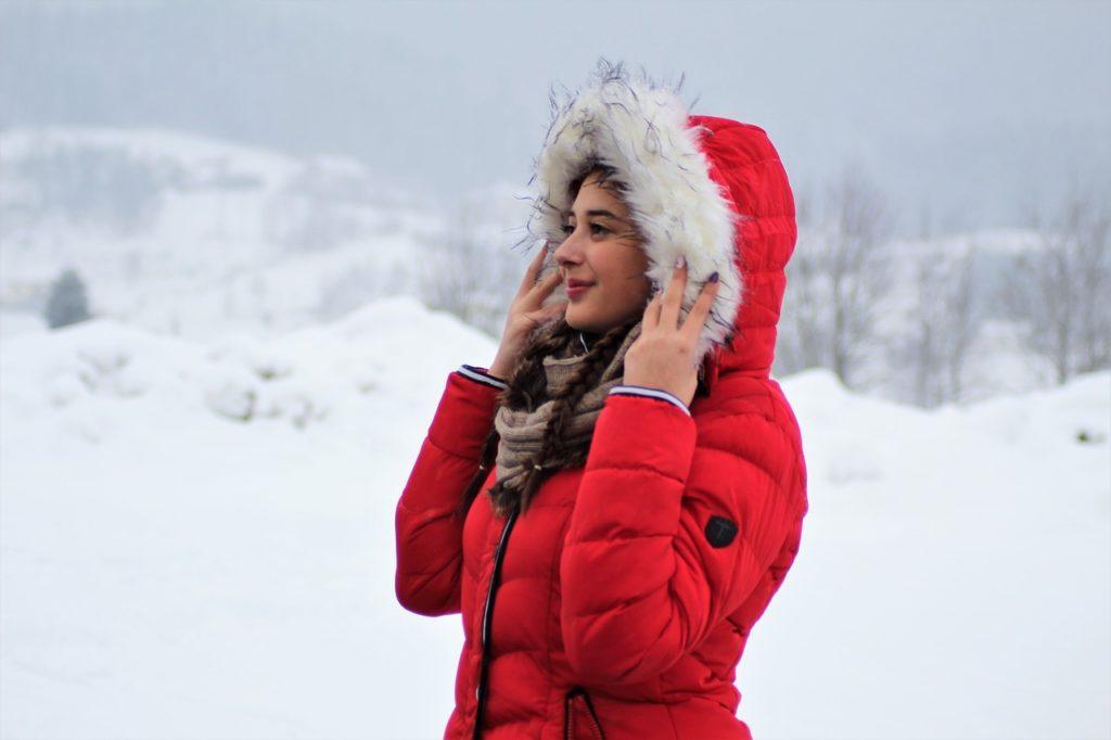Elegancka kurtka na jesienną pogodę