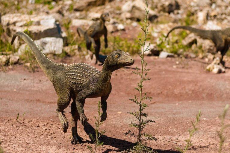 Zorganizuj kolonię w interesującym parku dinozaurów